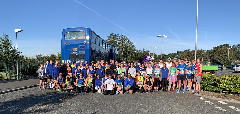 Washington Running Club tour bus to the GNR 2019