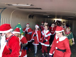 Santa run 2019 Washington running club