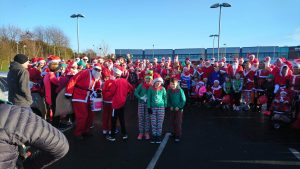 Washington running club santa run 2019