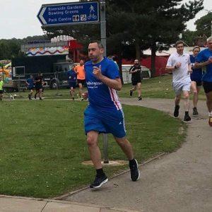 Chris Rutherford Washington Running Club