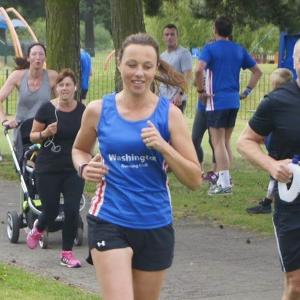 Katherine Conway, Washington Running Club Run Leader